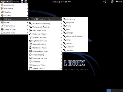 Fix broken Menu in Kali - blackMORE Ops - 1