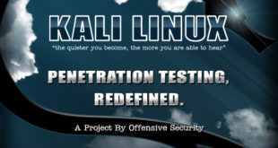 Kali Linux by Offensive Security