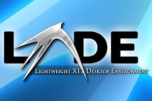 LXDE Desktop Logo - blackMORE Ops