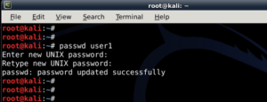 How to add remove user - Standard usernon-root - in Kali Linux - blackMORE Ops -3