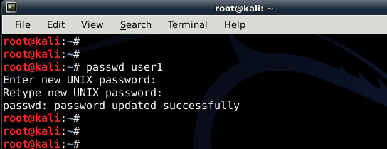How to add remove user (standard user/non-root) in Kali Linux