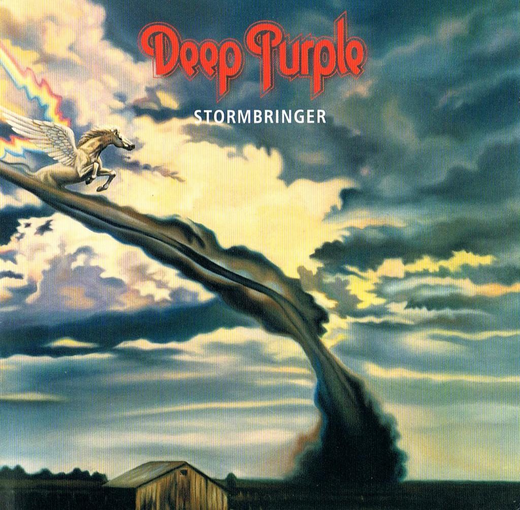 Deep Purple, Stormbringer, Album Cover - blackMORE Ops