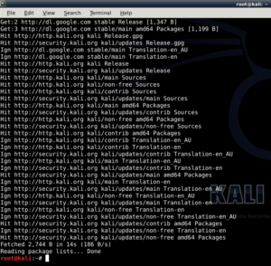 How to Install Google Chrome in Kali Linux? – Part 2 – Installation - 7 - blackMORE Ops