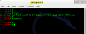 How to change hostname in Kali Linux - 13 - blackMORE Ops