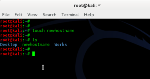 How to change hostname in Kali Linux - 14 - blackMORE Ops