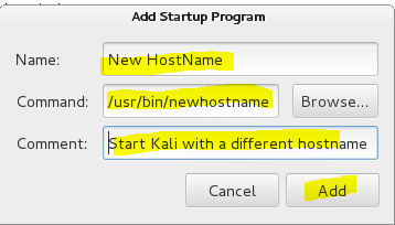 How to change hostname in Kali Linux - 19 - blackMORE Ops