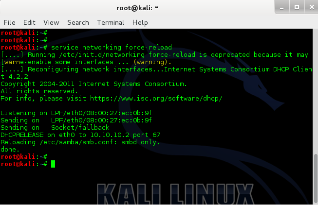 How to change hostname in Kali Linux - 8 - blackMORE Ops