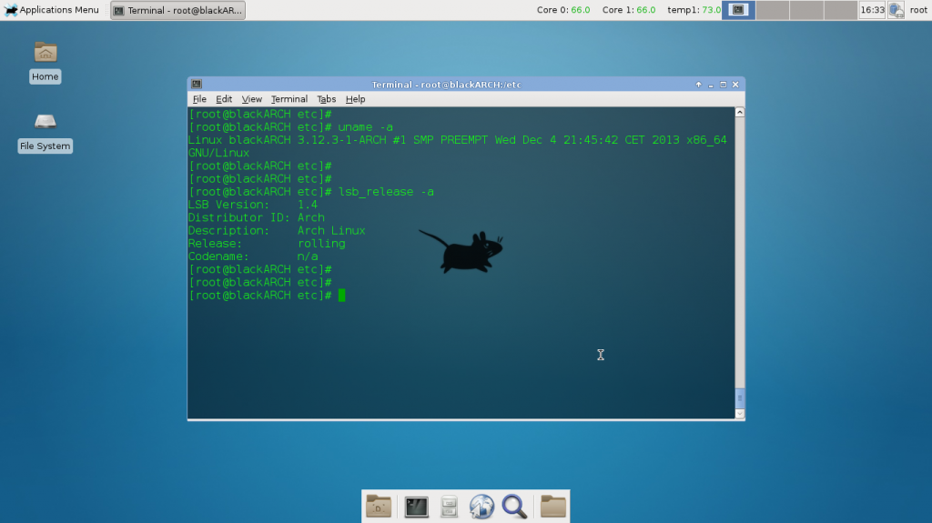 Triple Boot Arch Linux XFCE with Linux Mint and Windows 7 - blackMORE Ops