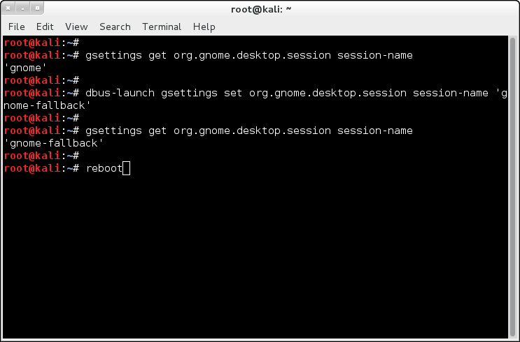 Enable full gnome instead of gnome-fallback in Kali Linux - 5 - blackMORE Ops