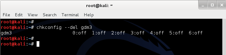 Disable gdm3 from run-level - Revert Kali Linux login to classic BackTrack command line login - 3 - blackMORE Ops