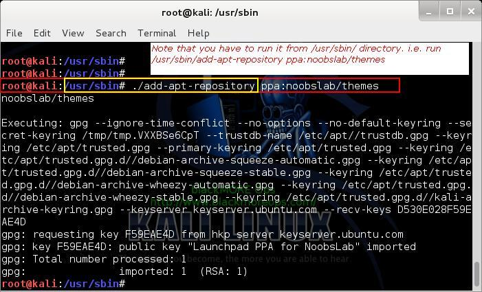 Kali Linux add PPA repository add-apt-repository - adding PPA Repository using add-apt-repository - 7 - blackMORE Ops