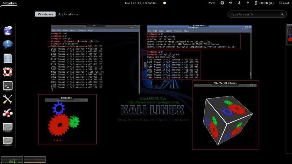 Install Amd Ati Proprietary Driver Fglrx In Kali Linux 1