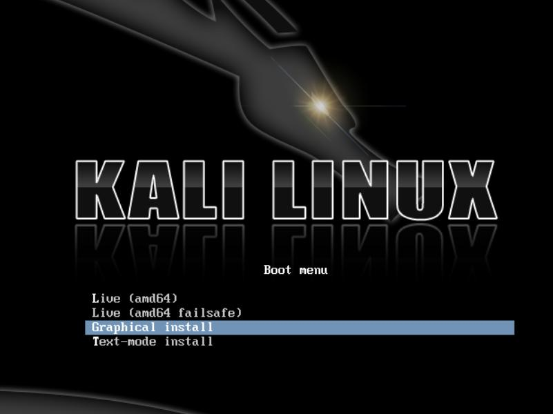 Install Choices - 2 - Installation Step failed in Kali Linux - blackMORE Ops