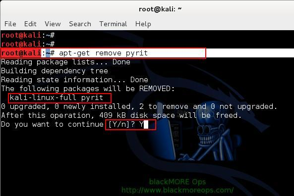 Remove Pyrit - 2 - Install NVIDIA driver kernel Module CUDA and Pyrit on Kali Linux - blacKMORE Ops