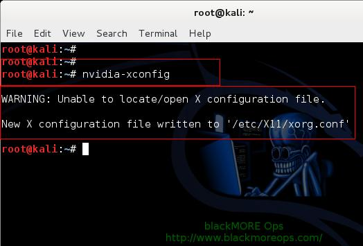 Install proprietary NVIDIA driver on Kali Linux - NVIDIA Accelerated