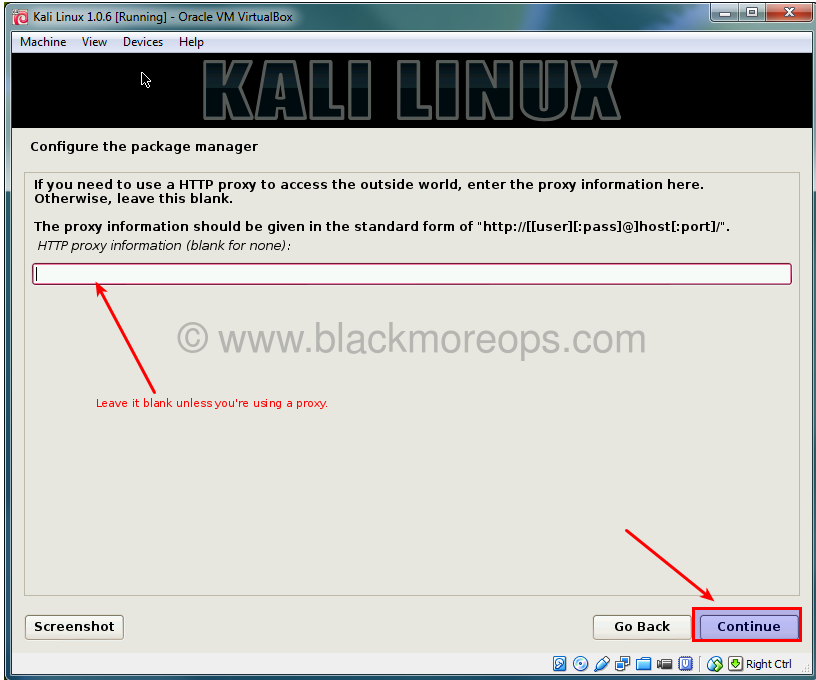 A detailed guide on installing Kali Linux on VirtualBox - blackMORE Ops - (37)