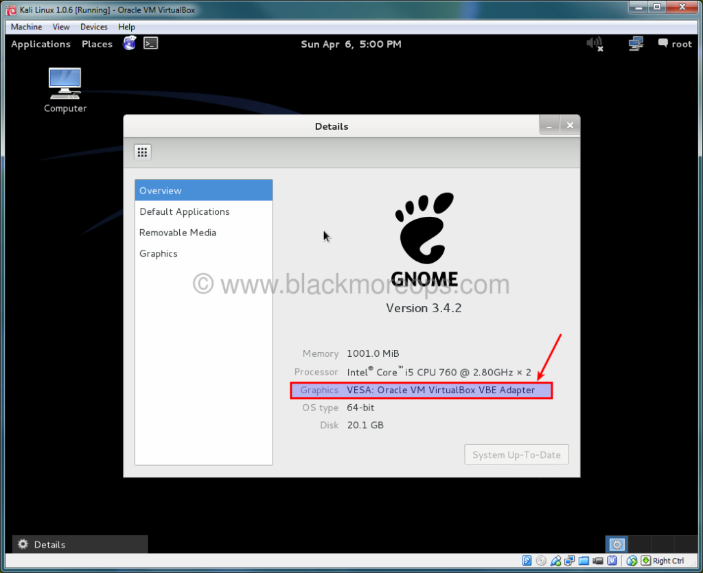 A detailed guide on installing Kali Linux on VirtualBox - blackMORE Ops - (44)