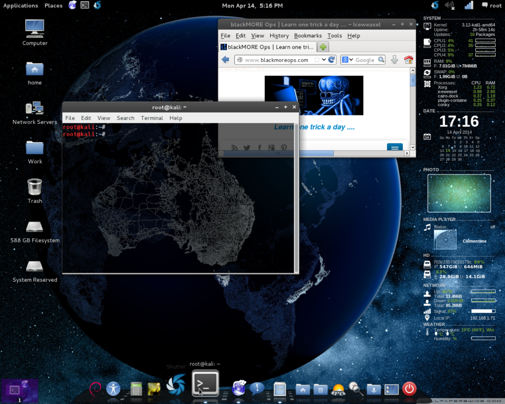 Install Cairo-Dock in Kali Linux - blackMORE Ops
