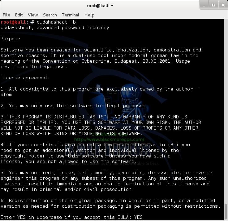 15 - Kali Linux 1.0.7 kernel 3.14 install NVIDIA driver kernel Module CUDA and Pyrit – CUDA, Pyrit and Cpyrit-cuda - - Benchmark cudahashcat