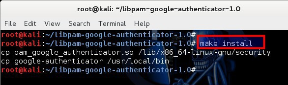 5 - Install compiled Google Authenticator PAM module from GoogleCode - blackMORE Ops