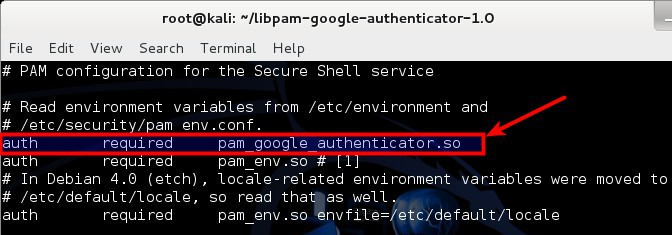 7 - Configure SSHD PAM to use Google Authenticator PAM Module - blackMORE Ops
