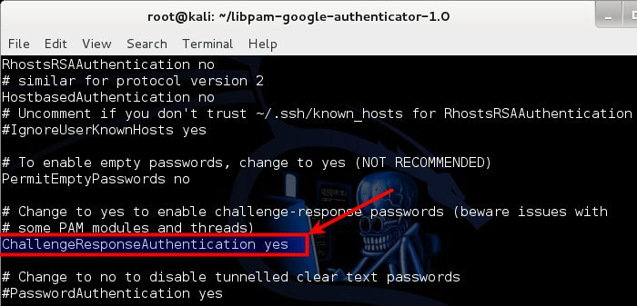 8 - Configure sshd_config PAM to use Google Authenticator PAM Module - blackMORE Ops