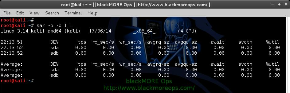 How to use sar for monitoring - sysstat sar examples and usage - blackMORE Ops - 10
