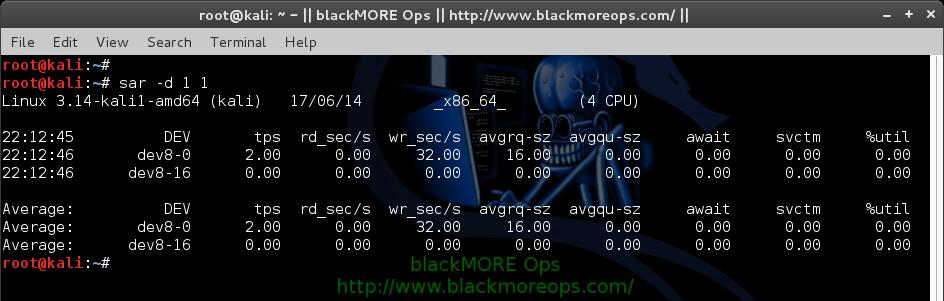 How to use sar for monitoring - sysstat sar examples and usage - blackMORE Ops - 9