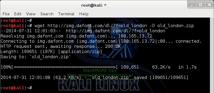 Install fonts on Linux - Debian, Ubuntu, Kali, Mint