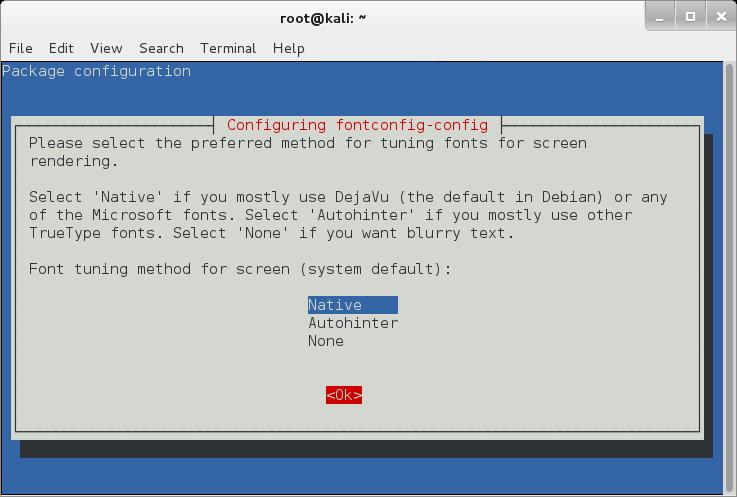 dpkg-reconfigure fontconfig-config - blackMORE Ops-