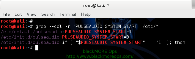 How to find files containing specific text in Linux? Summary - 6 - blackMORE Ops