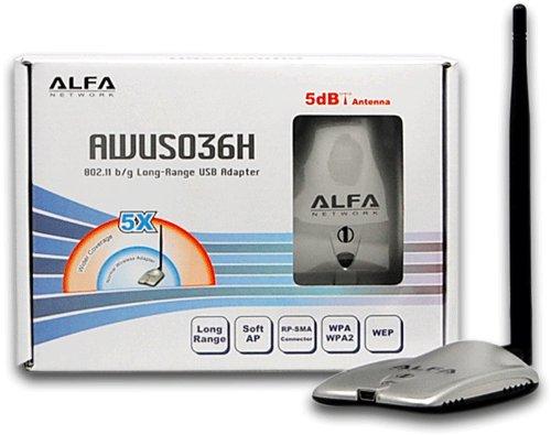 Identify USB Driver - An ALFA AWUS036H USB 802.1bg Long-Range Wireless USB Adapter - blackMORE Ops