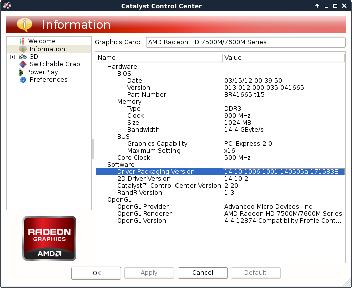 Install AMD ATI proprietary fglrx driver in Solydxk Linux - SolydXK -amdccle - blackMORE Ops -2