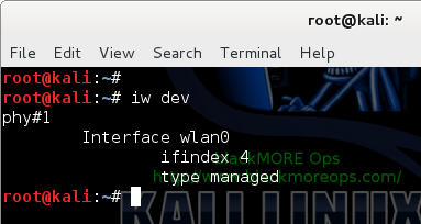 Connect to WiFi network in Linux from command line - Find WiFi adapters - blackMORE Ops-1