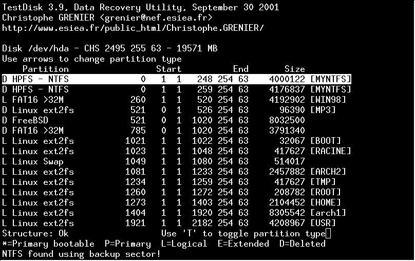 Linux recovery software – Data rescue tools - blackMORE Ops -12