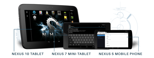 Introducing Kali Linux NetHunter and NetHunter supported