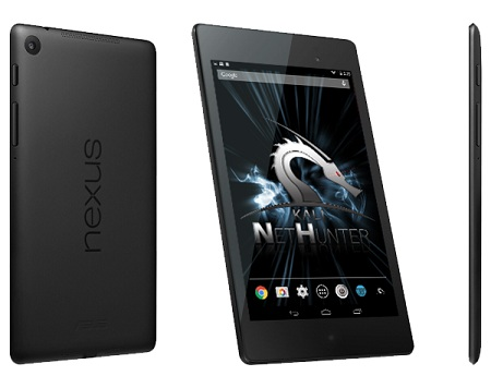 NetHunter supported devices - Nexus 7 - blackMORE Ops -2