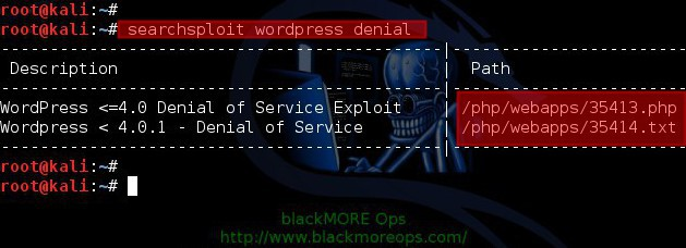 wordpress-40-denial-of-service-proof-of-concept-explained - blackMORE Ops - 2