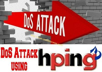 Denial-of-service Attack - DoS using hping3 with spoofed IP