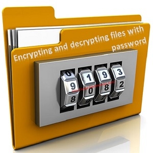 Encrypting and decrypting files with password in Linux