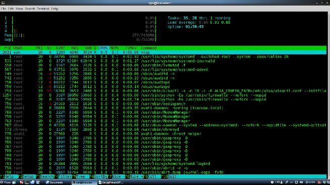 A complete solution for own private SSH, VPN and VNC server - blackMORE Ops - 3
