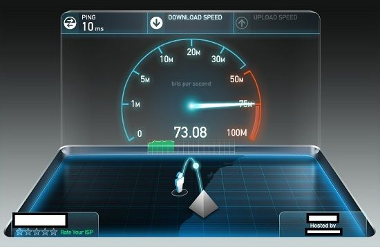 Check internet speed from terminal in Linux - blackMORE Ops -4