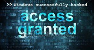 Hack Windows PC to get Windows password NTLMv2 hash