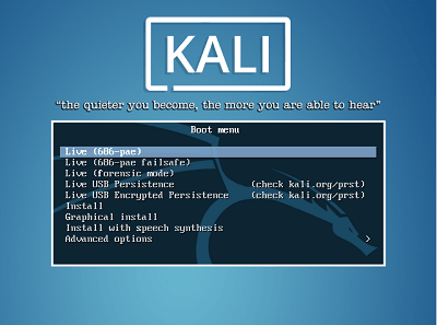 Create Kali Bootable Installer USB Drive in Windows 10 - blackMORE Ops - 14
