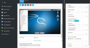 Run Kali Linux in Microsoft Azure on SSD for free - blackMORE Ops - 1