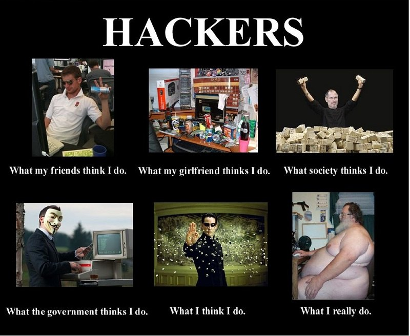 10 funny stereotypes about Hackers - blackMORE Ops