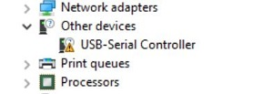 Fix for Prolific USB to Serial Code 10 error - After Uninstalling driver - blackMORE Ops - 6