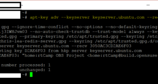 Fixing W GPG error http download.opensuse.org Release The following signatures were invalid KEYEXPIRED 1501595774 error - blackMORE Ops - 1