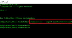 Export VMware Workstation Virtual Network Settings - blackMORE Ops - 1
