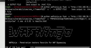 Bypass Web Application Firewall using WAFNinja - blackMORE Ops